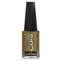 Esmalte Cora Solar Top Glitter