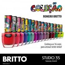 Esmaltes Coleção Romero Britto Studio 35