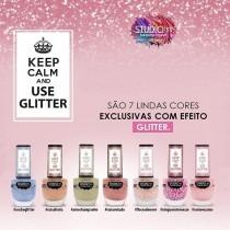 Esmaltes Coleção Use Glitter Studio 35