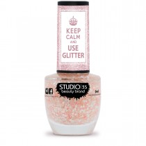 Esmalte Studio 35 #FlocosDeNeve Coleção Use Glitter