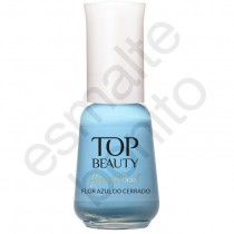 Esmalte Top Beauty Flor Azul do Cerrado Cremoso 9ml