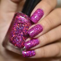 Esmalte Whatcha Fuchsia Glitter