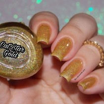 Esmalte By Vanessa Molina Cat Star Galaxy Gold