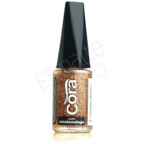 Esmalte Cora Golden Perfect Glitter