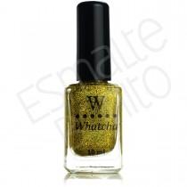 Esmalte Whatcha Golden Glitter