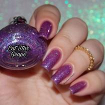 Esmalte By Vanessa Molina Cat Star Galaxy Grape