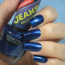 Esmalte Studio 35 #JeansBocaDeSino Jeans Collection