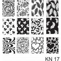 Placa para Carimbo Kelly Negri KN 17