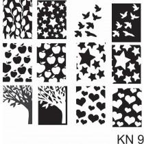 Placa para Carimbo Kelly Negri KN 9