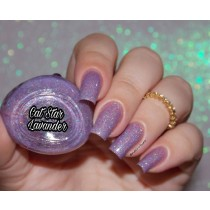 Esmalte By Vanessa Molina Cat Star Galaxy Lavander