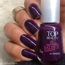 Esmalte Top Beauty Liberte-se da Timidez