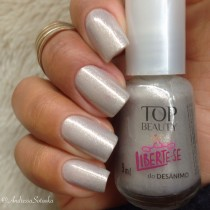 Esmalte Top Beauty Liberte-se do Desânimo