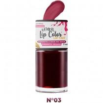 Batom Líquido Lip Tint Top Beauty Cor 03