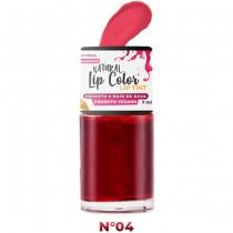Batom Líquido Lip Tint Top Beauty Cor 04