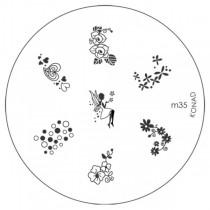 Placa para Carimbo Konad M35