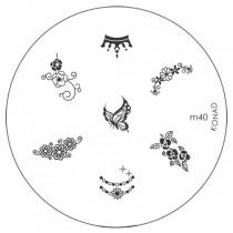 Placa para Carimbo Konad M40
