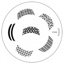 Placa para Carimbo Konad M44