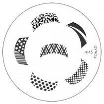 Placa para Carimbo Konad M45