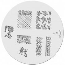 Placa para Carimbo Konad M71