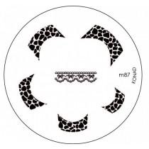 Placa para Carimbo Konad M87