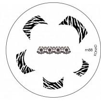 Placa para Carimbo Konad M88