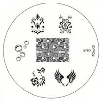Placa para Carimbo Konad M90