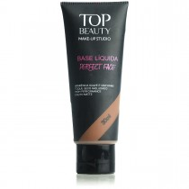 Base Líquida Perfect Face Marrom 06 Top Beauty 30ml