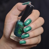 Esmalte Whatcha Master Green Holográfico