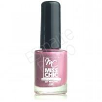 Esmalte Miss Chic Metal Pink Cintilante