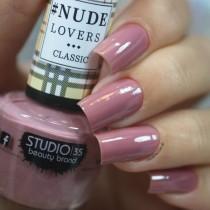Esmalte Studio 35 #NudeDoceNude Coleção #NudeLoversClassic