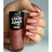 Esmalte Bella Brazil Pink Rose Liquid Sand 3free