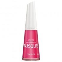 Esmalte Risqué Pink Fluor Metálico