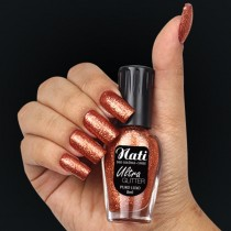 Esmalte Nati Puro Luxo Ultra Glitter 5free