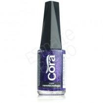 Esmalte Cora Purple 88 Glitter