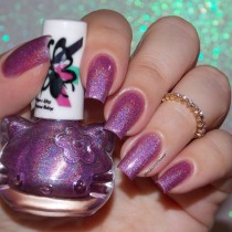 Esmalte By Vanessa Molina Cat Holo Bright Purple