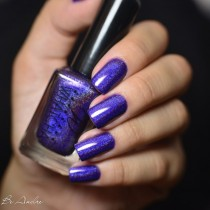 Esmalte Whatcha Purple Power Holográfico