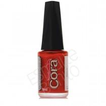 Esmalte Cora Red 21 Cremoso com Glitter