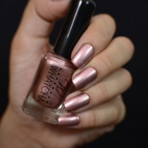 Esmalte Whatcha para Carimbo Rose Gold Satin