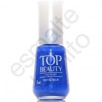 Esmalte Top Beauty Royal Blue Cremoso