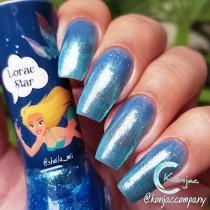 Esmalte Sapatinho Lorac Star Coleção Sereia Ariel Shimmer