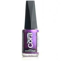 Esmalte Cora Shine Purple Cintilante