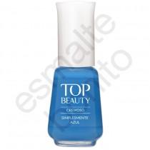 Esmalte Top Beauty Simplesmente Azul Cremoso 9ml