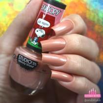 Esmalte Studio 35 #SnoopyArrumadinho Coleção Snoopy