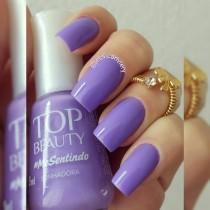 Esmalte Top Beauty Sonhadora Cremoso 9ml