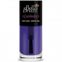 Top Coat Efeito Gel Bella Brazil 3free
