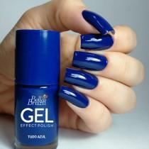Esmalte Bella Brazil Gel Effect Tudo Azul