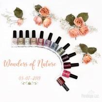 Coleção Completa Wonders of Nature Esmaltes Penélope Luz