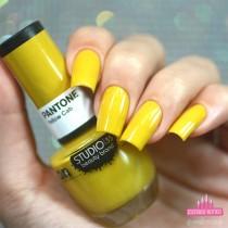 Esmalte Studio 35 Yellow Cab Coleção Pantone 2019