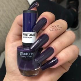 Esmalte Studio 35 Night Purple Coleção Pantone 2019