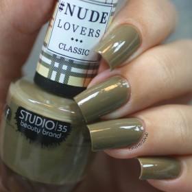Esmalte Studio 35 #NudeMilitar Coleção #NudeLoversClassic